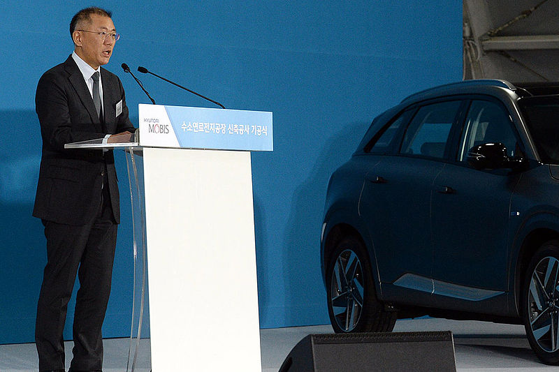 Vize-Chairman der Hyundai Motor Group leitet Hydrogen Council