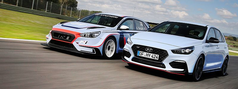 Hyundai i30 N TCR startet in ADAC TCR Germany